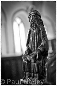 Old Buckenham, St Peter r., peend (Old Testament prophet?)
